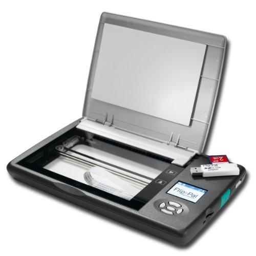 Flip -Pal mobilen Scanner mit SD -USB-Adapter und 4 GB. EasyStitch und StoryScans * sprechen Bilder Software enthalten Bild Pal