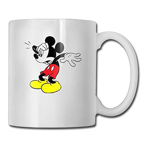Frightened Mickey Mouse 11oz Tea Cup Coffee Mug