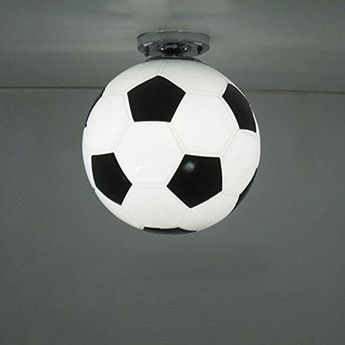 Fußball Deckenleuchte Junge Schlafzimmer Deckenlampe Kinderlampe Kreative Dekorative Foyerlampe Innenbeleuchtung Für Bar Restaurant Ø25cm E27