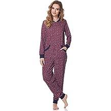 Merry Style Pijamas Enteros Mono Pijama Ropa de Dormir Mujer MS10-175