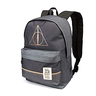 410XzrH5d0L. SS324  - Karactermania Harry Potter Deathly Hallows-HS Rucksack Mochila Tipo Casual 42 Centimeters 23 (Multicolour)