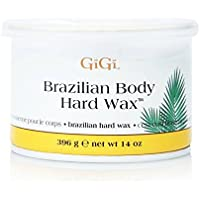 GiGi Brazilian Body Hard Wax A Non-Strip Formula for Sensitive and Delicate Areas 396g