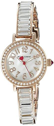 Betsey Johnson Damen bj00549–03Analog Display Quarz Rose Gold Watch