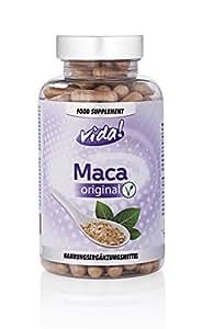 Maca Original | Vegetarian & Natural | 4:1 Extract - 2000mg equivalent | 150 Capsules