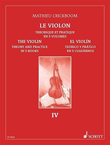 Le Violon Théorique et Pratique en 5 vo...