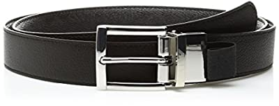 Armani Jeans Men's All Over Logo Pu Belt
