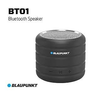 Blaupunkt BT-01 3W Portable Bluetooth Speaker (Black)