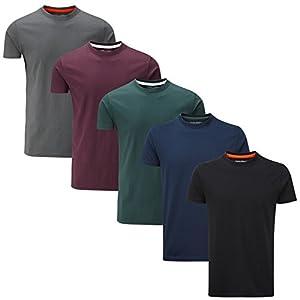 Charles Wilson Confezione da 5 T-Shirt Girocollo Semplice 7 spesavip