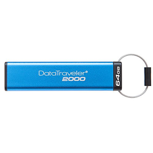 Kingston Datatraveler 256 (Kingston DataTraveler 2000 - DT2000/64GB verschlüsselter USB 3.0 Speicher (mit Tastatur))