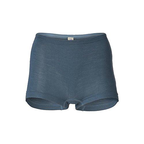 Engel Damen Pants Reine Bio-Wolle/Seide, Atlantik, 38/40