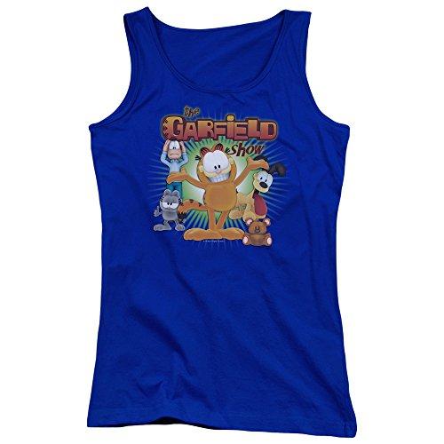 CoverMonster-The Garfield per bambini, Canottiera da uomo Blu