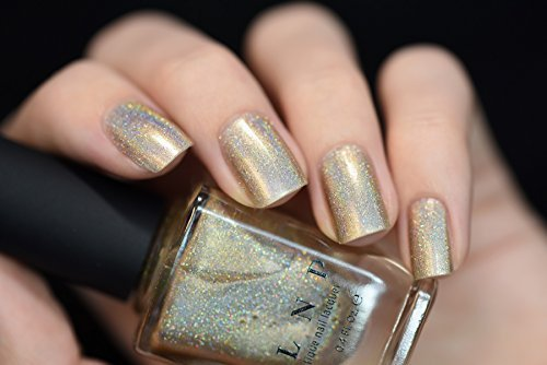 ILNP Cosmetics, Inc. Ilnp I See You Delicate Champagne Holographic Nail Polish