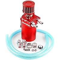 Uzinb Recoger el Aceite Universal 300ML del Motor de Coche de Respiración Puede filtrar Cilindro de