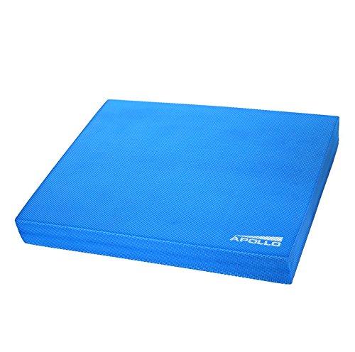 Apollo Balance Pad Koordinationsmatte 48,5x38x6cm für Fitness, Yoga und Pilates Farben: blau -