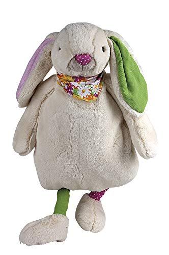 Knuffeltier Hase Bunny mit 0,8 Liter Sänger Gummi-Wärmflasche