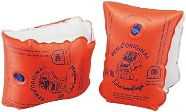 Bema Original Schwimmflügel, Orange, Größe 0, 11-30 kg/1-6 Jahre