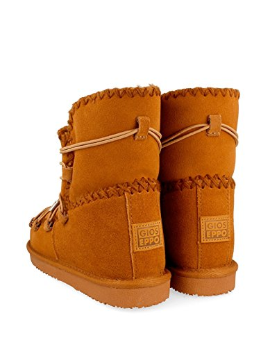 Gioseppo Brown Eskimo Boot With Laces Leather