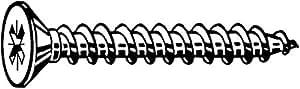 Zoro Tools–-Spanplattenschrauben Stahl verzinkt avellanarse Phillips pz. verzinkt 6x 200mm heco-fix Plus 100PCS