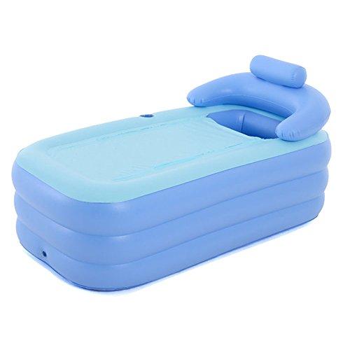 HONGYANDAI Aufblasbare Badewanne Verdicken Erwachsene Badewanne Faltbare Badewanne Kinder Badewanne (160 * 84 * 64cm)