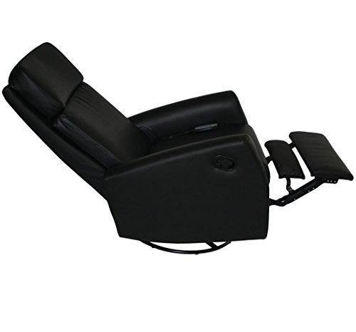 Kmh Massagesesselfernsehsessel Relaxsessel Hannover Schwarz Drehbarverstellbar 800073