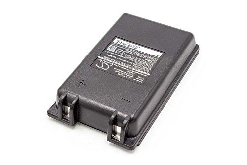 vhbw NiMH batteria 2000mAh (7.2V) per telecomando per gru remote control come Autec MH0707L, NC0707L