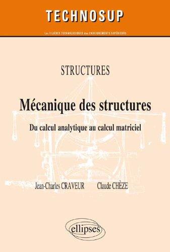 Mcanique des Structures Niveau B