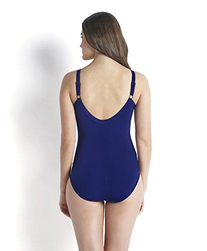 Speedo Damen Badeanzug Sculpture Watergem Adjustable 1 Piece, 8-09717A370 Deepindigo/Blue