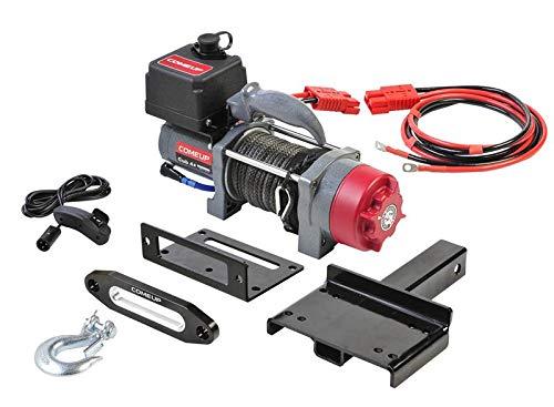 COMEUP CU-CUB4CO-12V Treuil électrique en Plastique 4000 LB Câble de Montage Carry-on