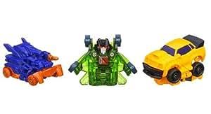 Hasbro - Transformers - Lanceur - Bot Shots Bumblebee, Shockwave et Skyquake