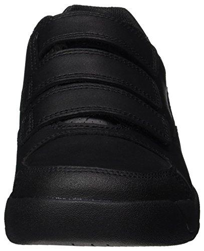 Clarks Monte Lite Bl, Scarpe da Ginnastica Basse Bambino Nero (Black Leather)