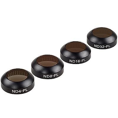 MIAO LAB DJI Mavic Filters for DJI Mavic Pro & Platinum-Optical Glass Multi-coated DJI Mavic Lens Filters- Pass Gimbal Calibration by MIAO LAB