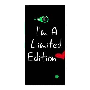 Awesome Limited Love Back Case Cover for Lumia 730