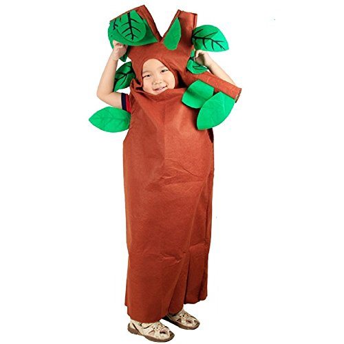 üse und Natur Kostüme Anzüge Outfits Kostümfest für Jungen und Mädchen (Baum) ()