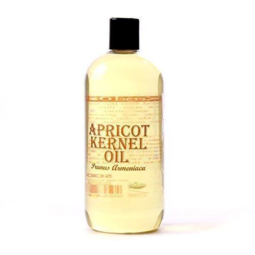 Mystic Moments, Olio Vettore di nocciolo di Albicocca - 1 litro - 100% Puro