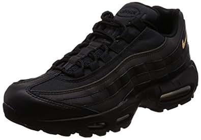 meet 12f43 2ad26 Image indisponible. Image non disponible pour la couleur : Nike NIKE924478-003  Homme Air Max 95 Premium Se Noir/Or métallisé 924478-