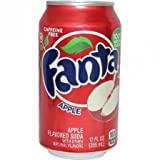 Fanta Apple 12 FL OZ (355ml) - 6 Cans
