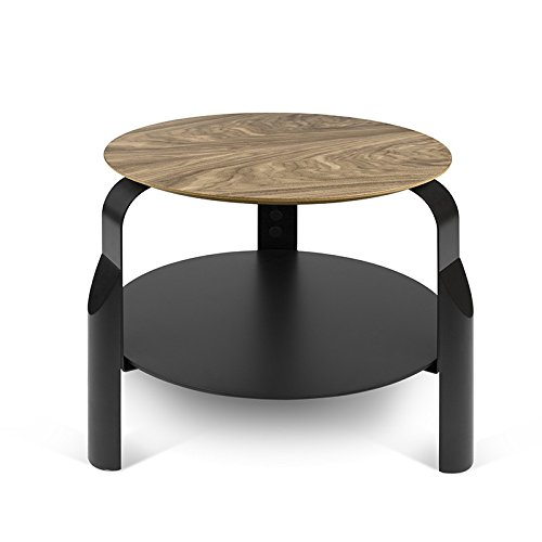Paris Prix - Temahome - Table D'appoint Scale Noyer & Noir