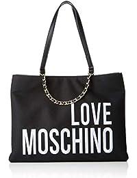 Love Moschino Borsa donna a mano o spalla articolo JC4112PP17LO BORSA CANVAS 5b276c11fff