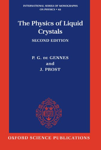 The Physics of Liquid Crystals (International Series of Monographs on Physics) por P. G. de Gennes