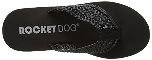 Rocket Dog - Diver, Sandali Donna Black (Swella Black)