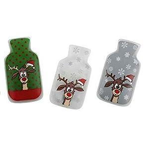 3er Set Taschenwärmer Didi (Wärmflaschenform) Wichtelgeschenk – Handwärmer