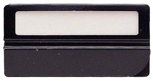 Exacompta 145301B Packung (mit 25 Kartenreiter, geeignet für Hängeregister, 50 mm breit) schwarz