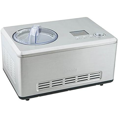 H.Koenig HF320 - Máquina para hacer helados, 2 l