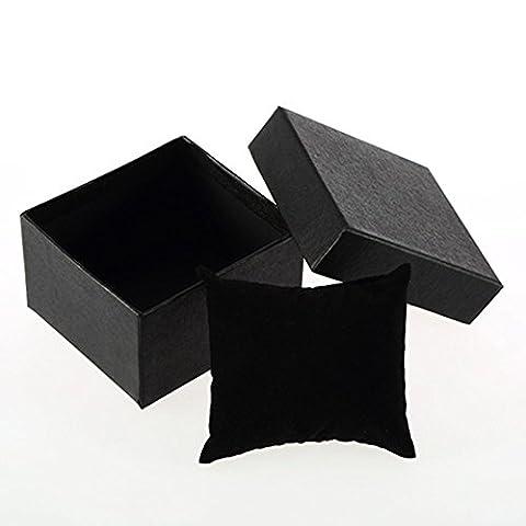 Mode Bracelet Bijoux Montre Affichage étui de rangement Cadeau Emballage Box