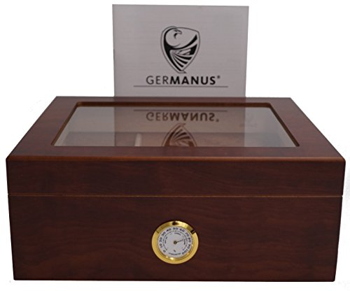 GERMANUS Humidor cave à cigares Classicus desk...