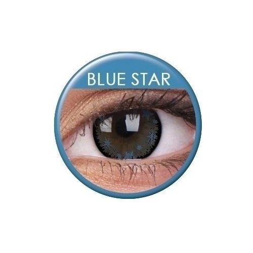 ge Kontaktlinsen - Die letzten 3 Monate (Blue Star) (Rezept Halloween Kontaktlinsen)