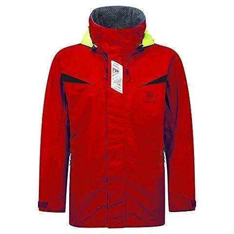 2016 Henri Lloyd Ladies Wave Inshore Coastal Jacket New Red Y00354