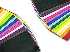 Idea Regalo - Item Name (aka Title): ODL Packaging Ltd - 100 fogli di carta velina colorata 50 X 75cm multicolore