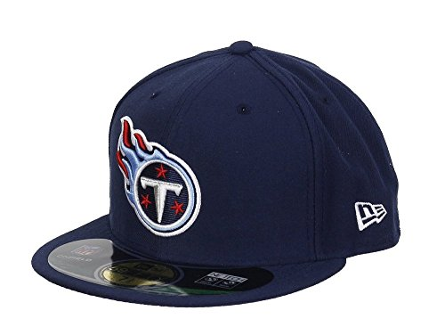 New Era Tennessee Titans 59FIFTY Fitted Sideline NFL Cap Game 7 1/8 -