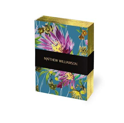 Matthew Williamson Deluxe Mini-Notizbuch Set mit Blumenblüten